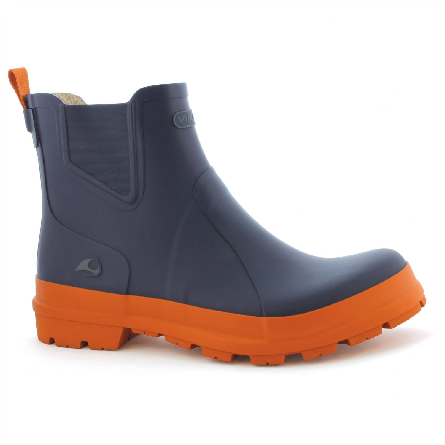 Viking - Bergen - Gummistiefel Navy / Orange