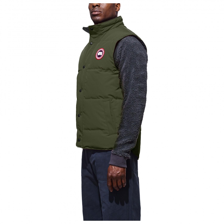 540c12fc319f94 Canada Goose Garson Vest - Down Vest Men's | Free UK Delivery ...