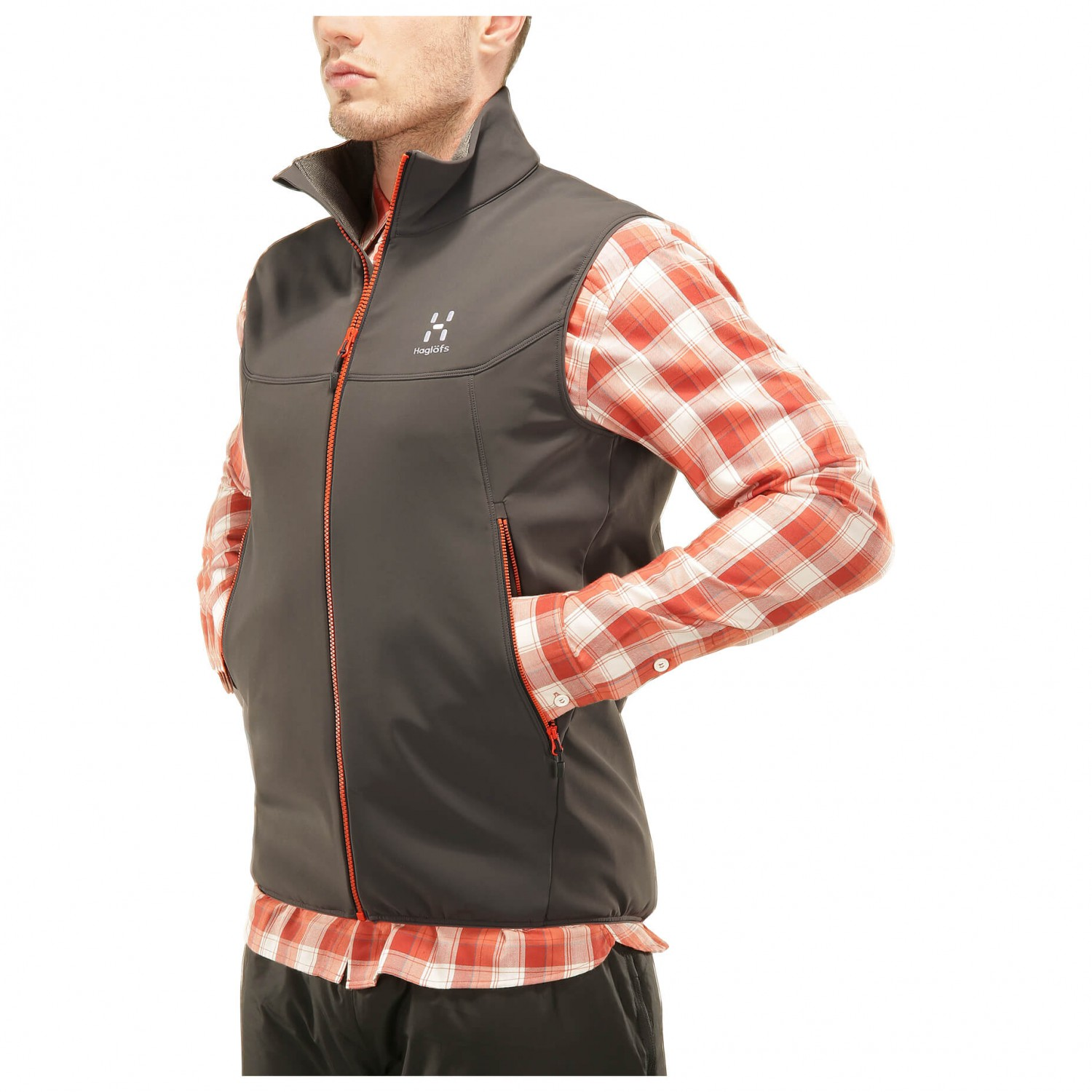 Haglöfs Gecko Vest - Softshell Vest Men's | Buy online | Alpinetrek.co.uk