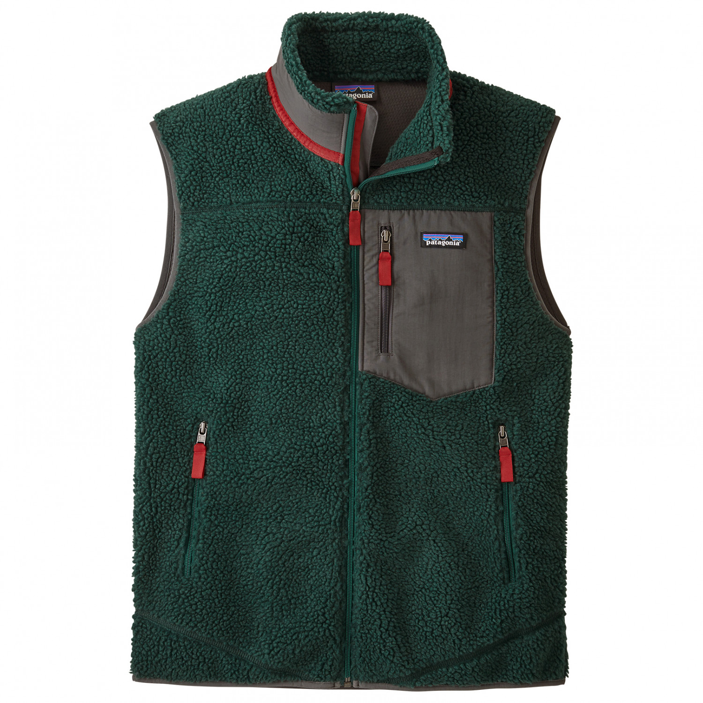 Patagonia Classic Retro X Vest Fleece vest Piki Green | S