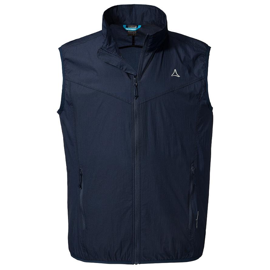 Schöffel Windbreaker Vest M1 Softshellweste Dress Blues | 52 (EU)