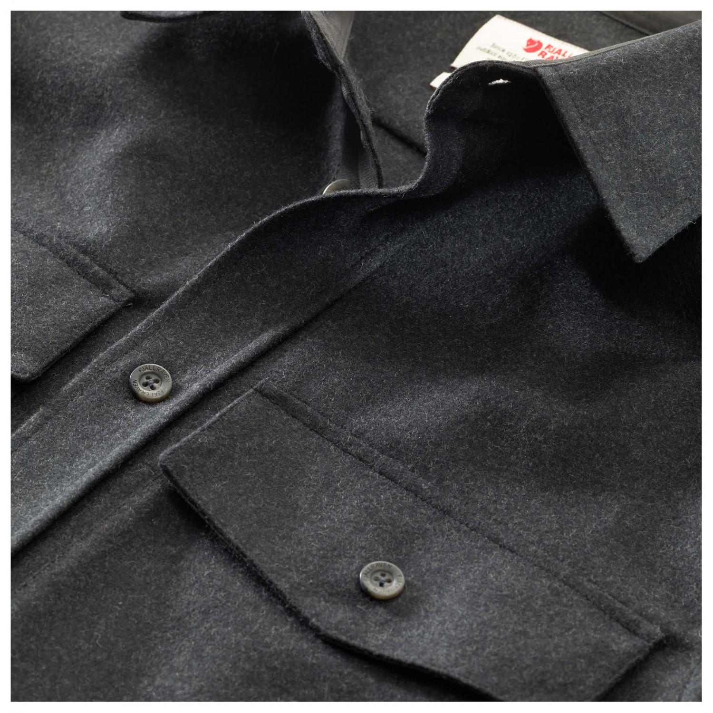 Wool Shirt Övik Fjällräven Ls Chemise Homme Livraison Re gWS4x74tn