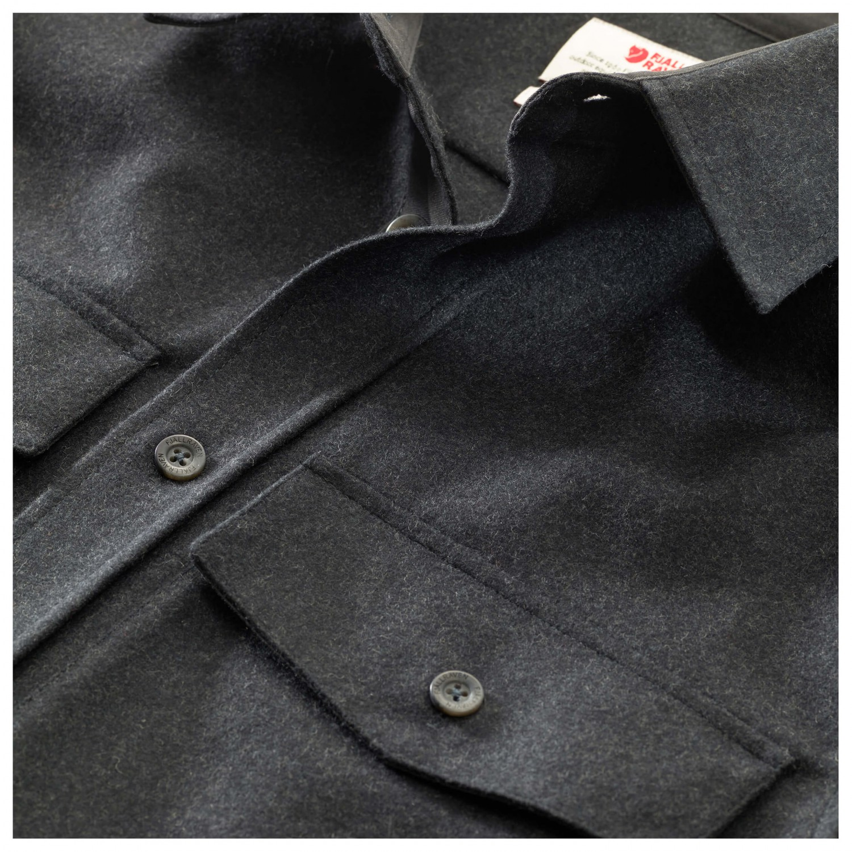 951903a2a13c Fjällräven Övik Re-Wool Shirt L S - Skjorta Herr köp online ...