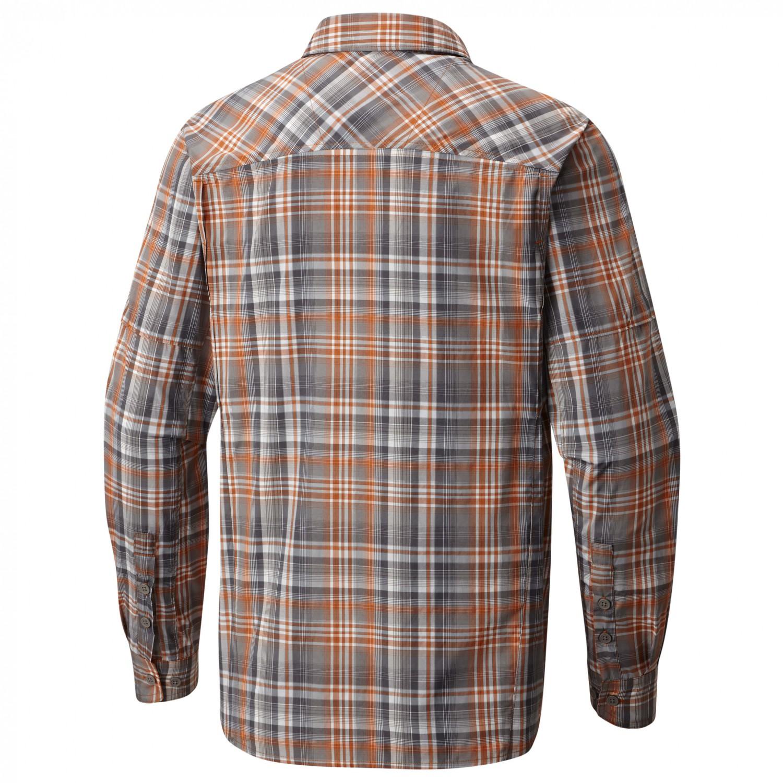 Columbia Herren Hemd Silver Ridge Plaid Long Sleeve Shirt