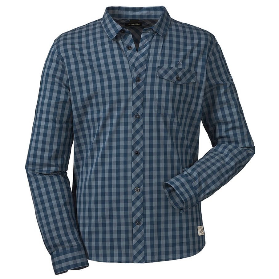 new product shop on feet at Schöffel Shirt Miesbach 1 - Hemd Herren online kaufen ...