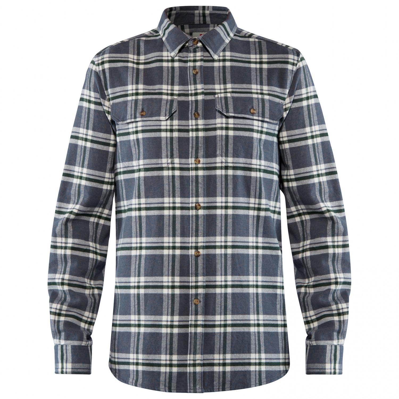 echte Schuhe neuer & gebrauchter designer feine handwerkskunst Fjällräven - Övik Heavy Flannel Shirt - Shirt - Dusk | S