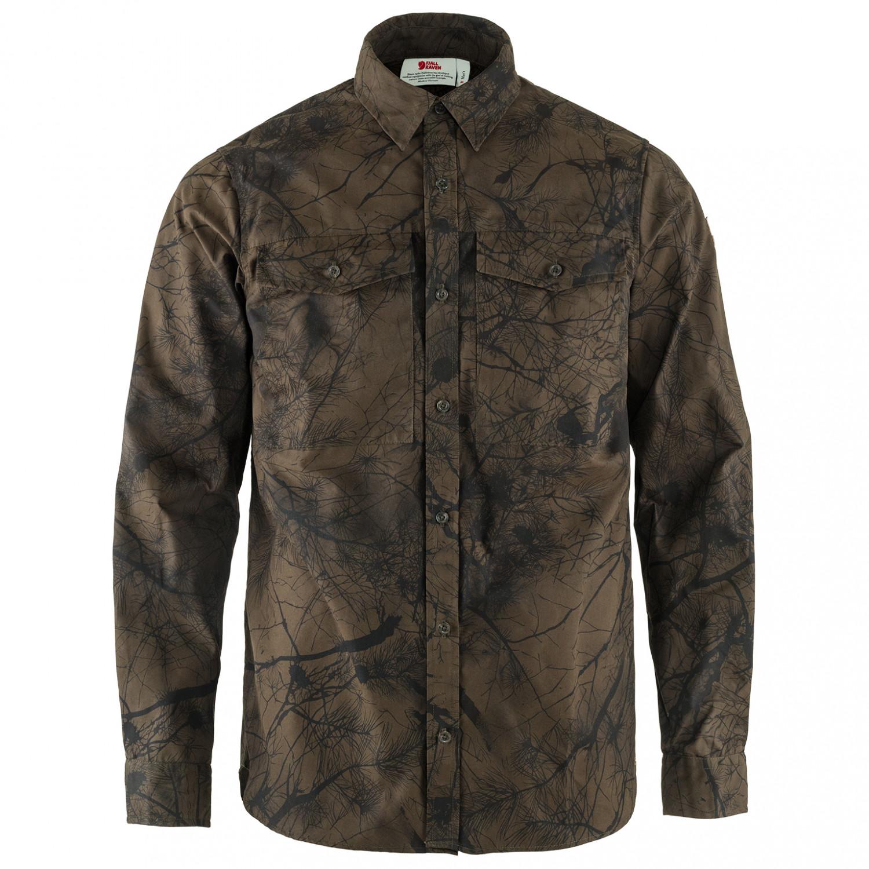 Fjällräven Värmland G 1000 Shirt Hemd Green Camo Deep Forest | M