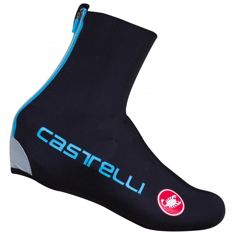 Castelli - Diluvio C Shoecover 16 - Überschuhe Black / Sky Blue