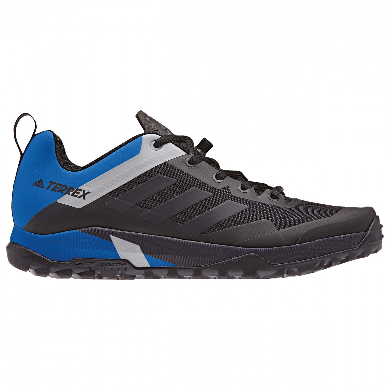 adidas Terrex Trail Cross SL Chaussures de cyclisme Core Black Carbon S18 Blue Beauty F10   5 (UK)