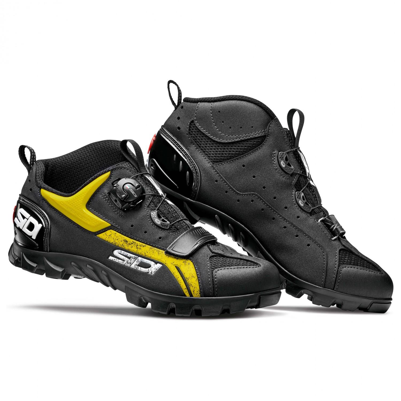 diseño atemporal e5a3a f1f17 Sidi - MTB Defender - Zapatillas de ciclismo - Black / Yellow | 46 (EU)