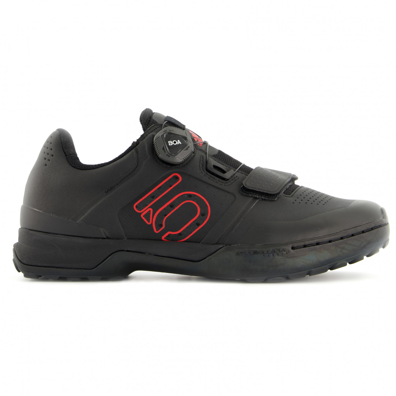 Five Ten Kestrel Pro Boa Chaussures de cyclisme Core Black Red Grey Six | 6 (UK)