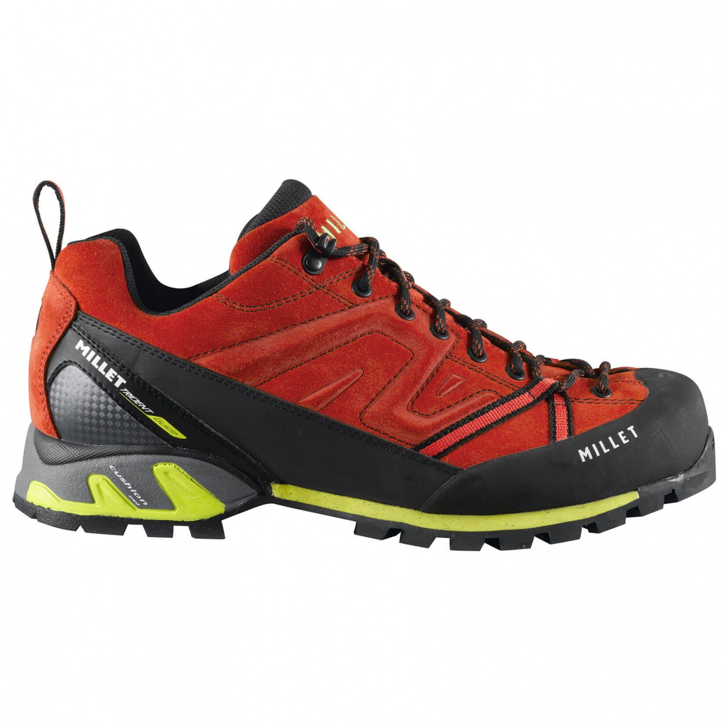 Millet - Trident Guide - Approachschuhe Red / Acid Green