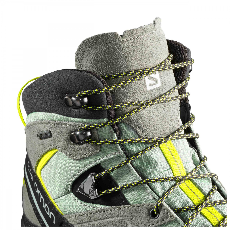 Green Leather Salomon Montagne Mid Kaki De Chaussures X Sulphur Vintage Gtx Black10uk Alp QtrdhsC
