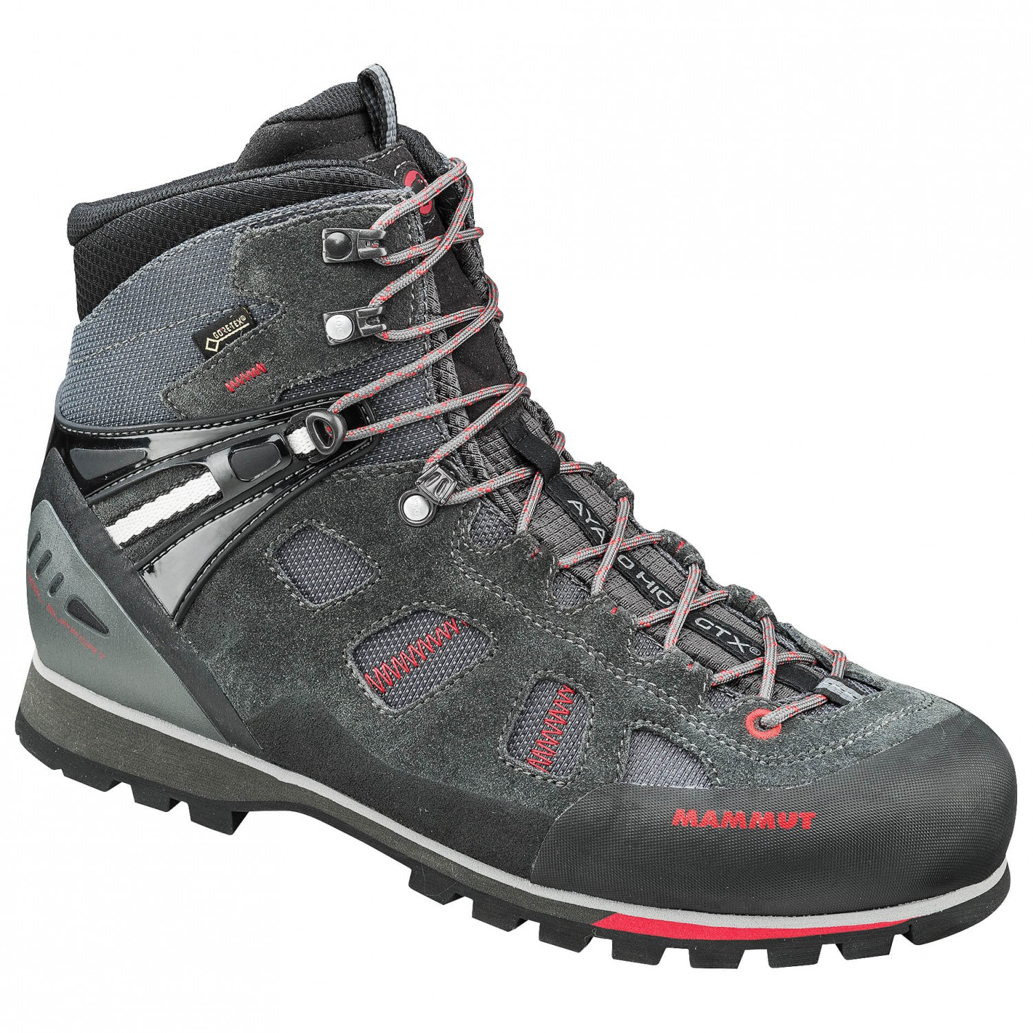 Mammut - Ayako High GTX - Approachschuhe Graphite / Inferno