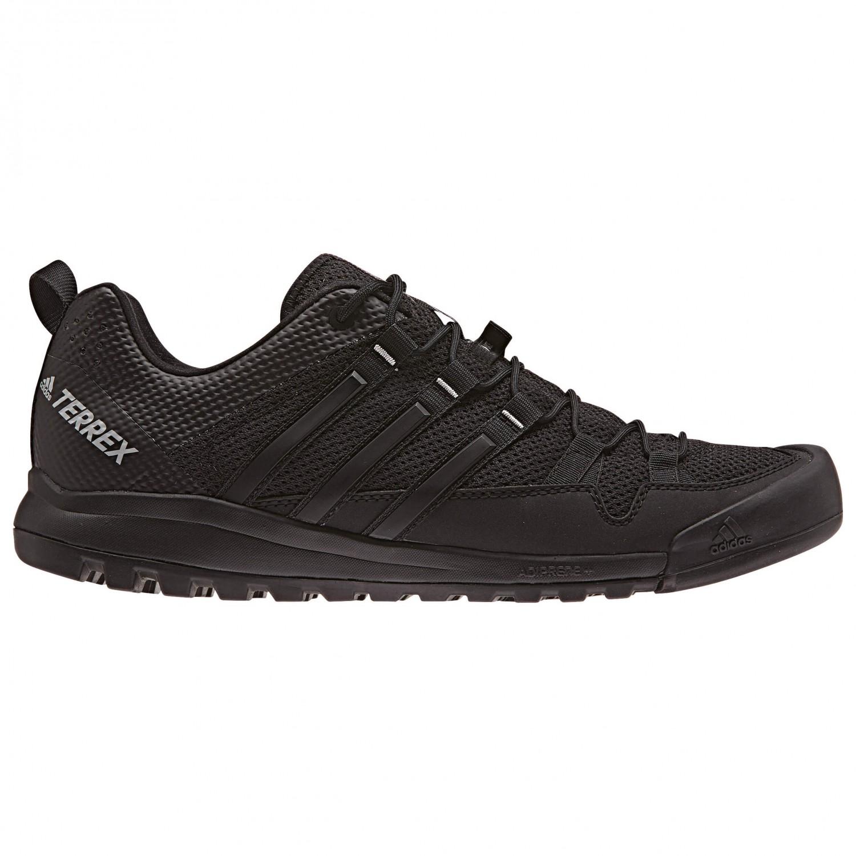 adidas - Terrex Solo - Approachschuhe Dark Grey / Core Black / Ch Solid Grey