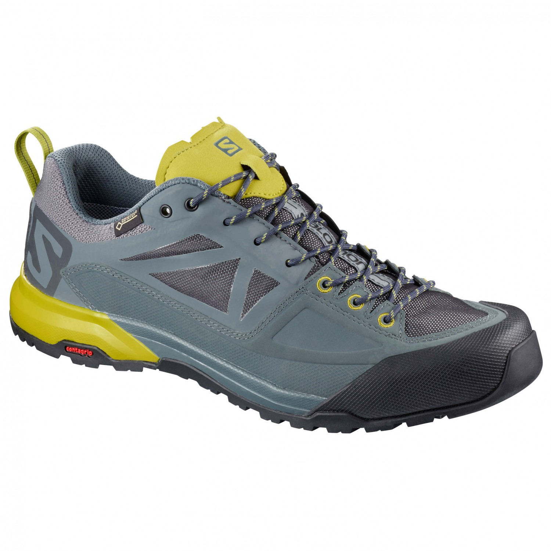 Salomon - X Alpe Spry - Chaussures Approche Taille 11 Noir TbKRz9Ou7