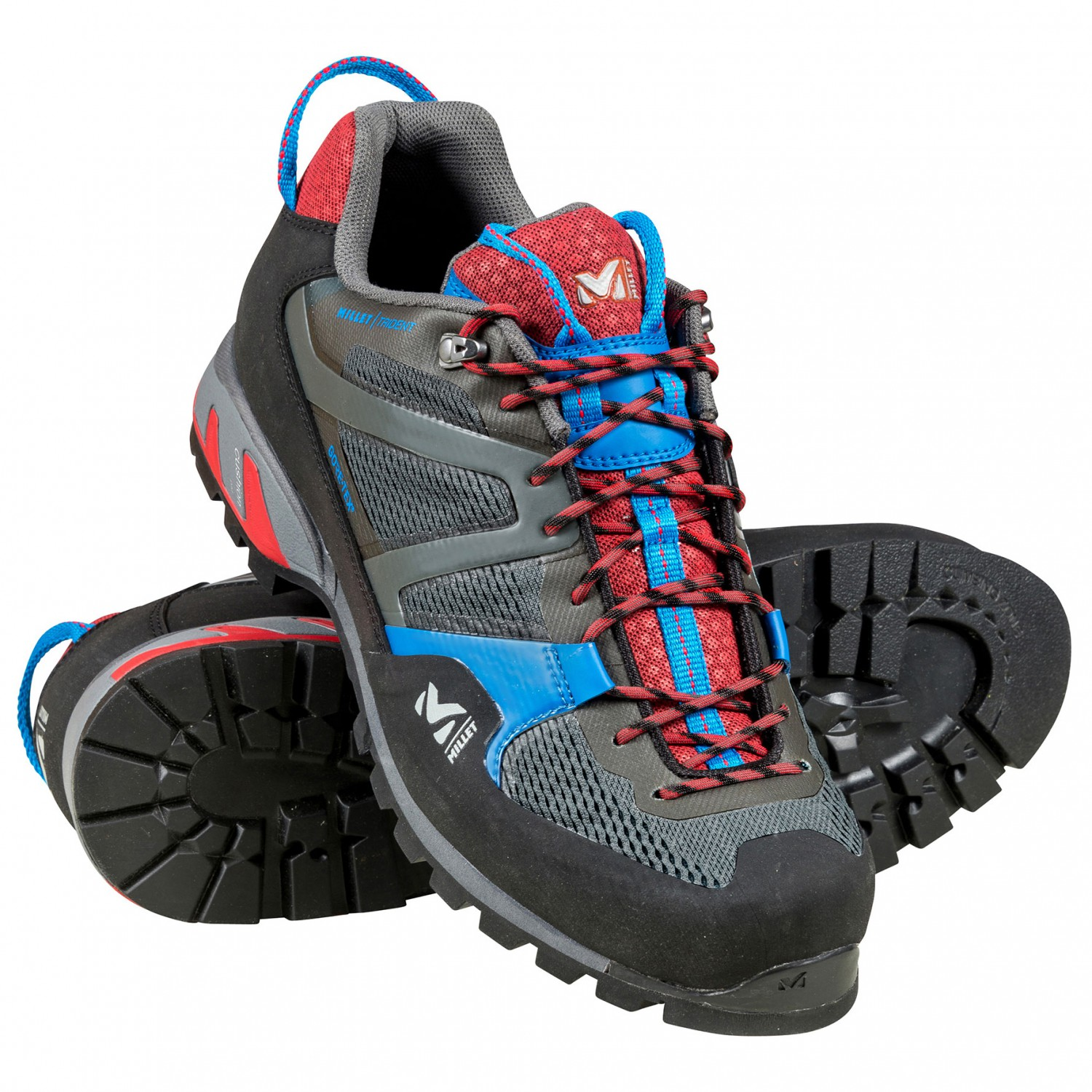 afb90a020fb Millet - Trident GTX - Approach shoes - Grey / Red | 8,5 (UK)