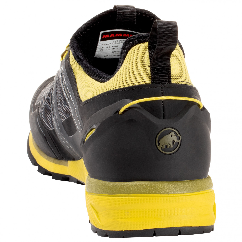 Original- Talsohle Preis 60% Rabatt Mammut - Alnasca Knit Low GTX - Approach shoes - Black / Ultramarine | 7,5  (UK)