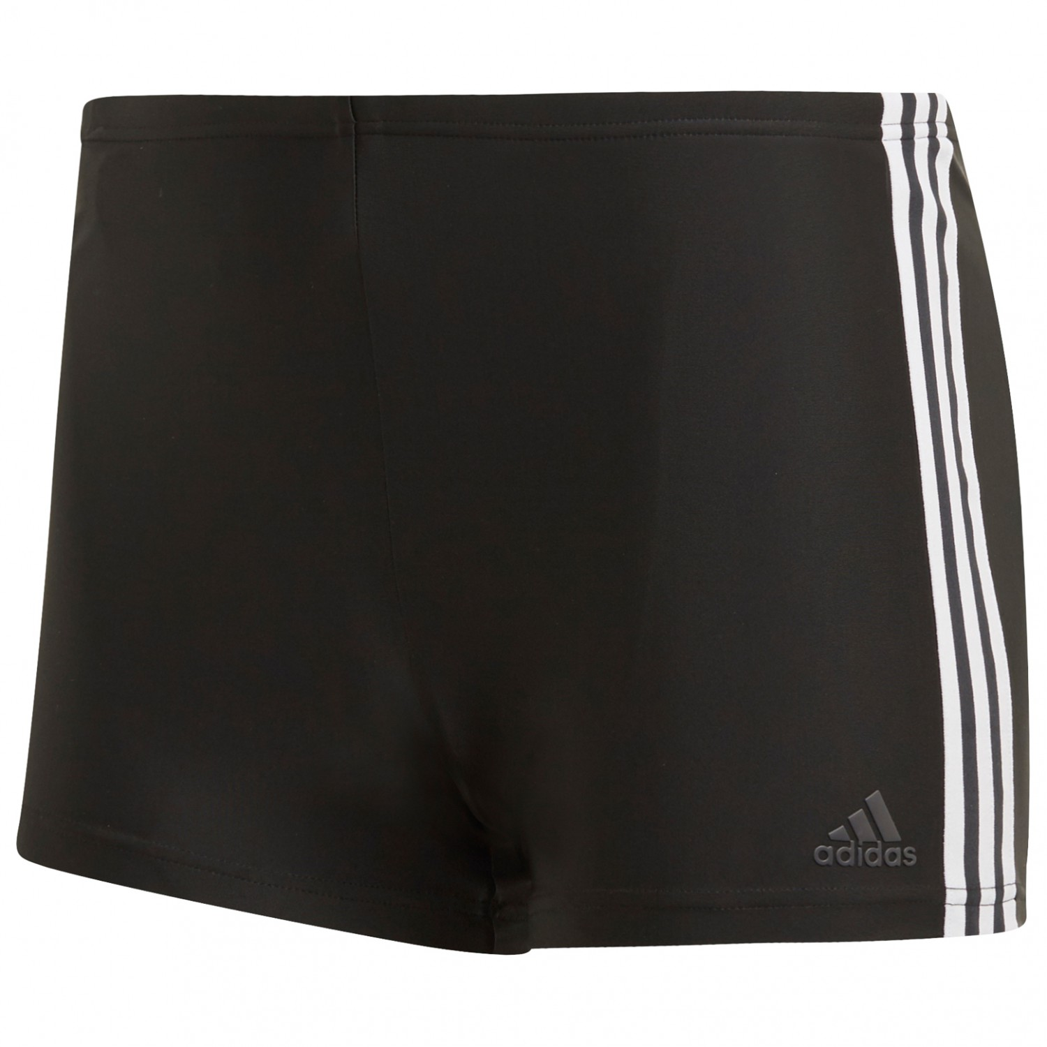 adidas - Fit Boxer 3-Stripes - Badehose - Legend Ink / Hi Res Yellow | 6