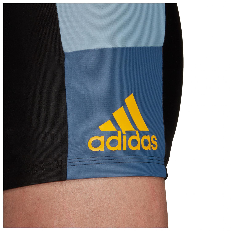 adidas Infinitex Colorblock Boxer Badehose Black Tacblu Tech Ink   46 (EU)