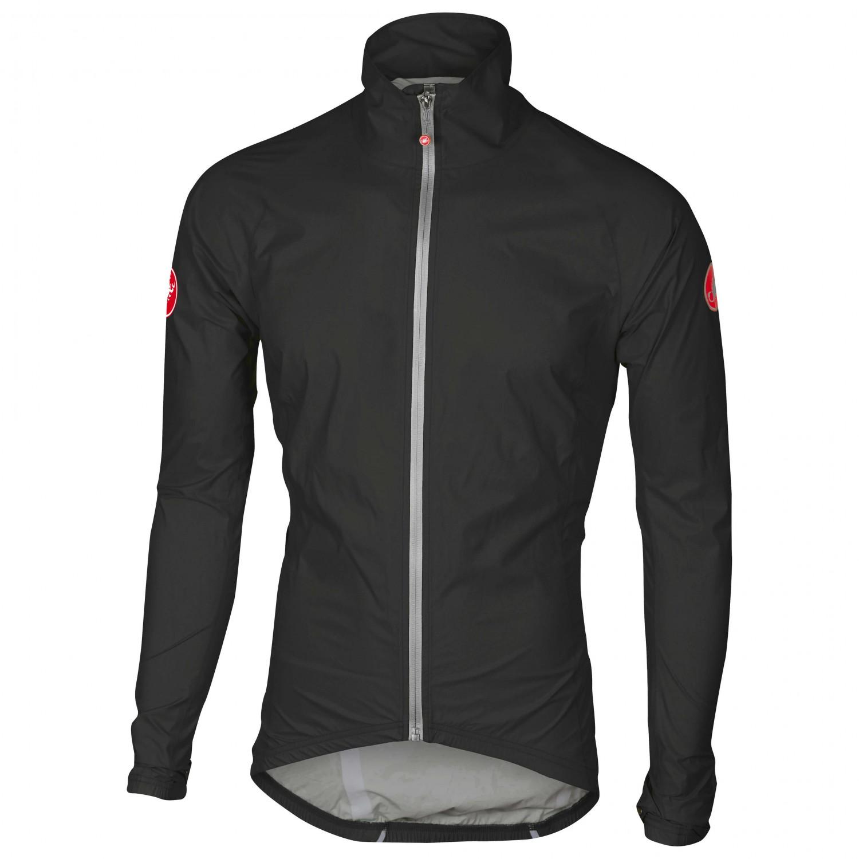Castelli Emergency RedS Rain Fahrradjacke Jacket H2WbEIeD9Y