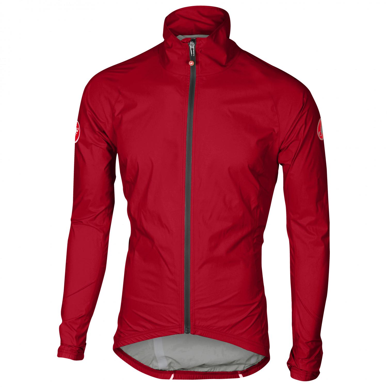 Brand NEW Castelli Emergency Rain and Wind Cycling Jacket Yellow Fluo Size XL