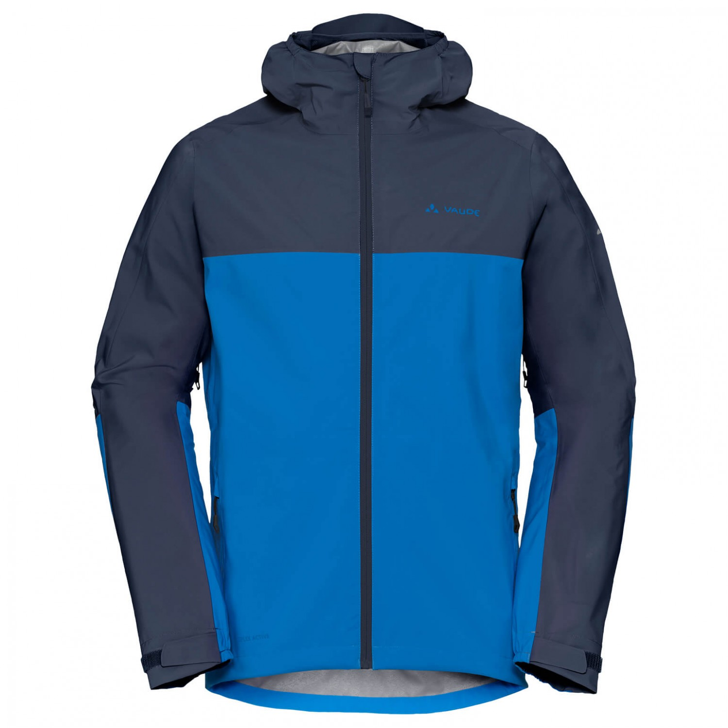 size 40 480ea e711b Vaude - Moab Rain Jacket - Cycling jacket - Radiate Blue | S