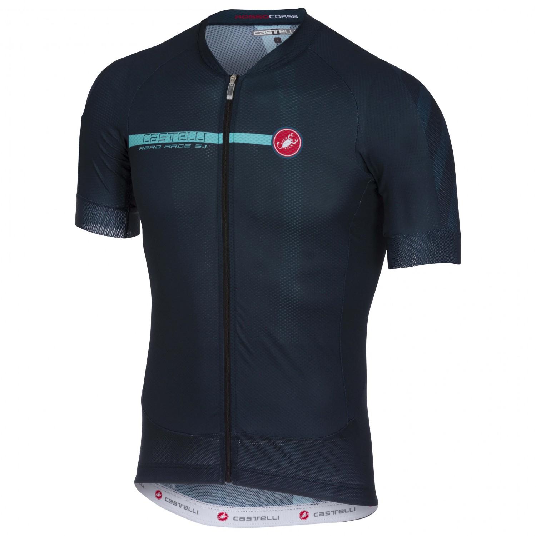 Castelli Aero Race 5.1 Jersey Full Zip - Cycling Jersey Men s  438e8f838