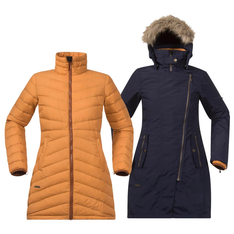 Bergans mantel orange