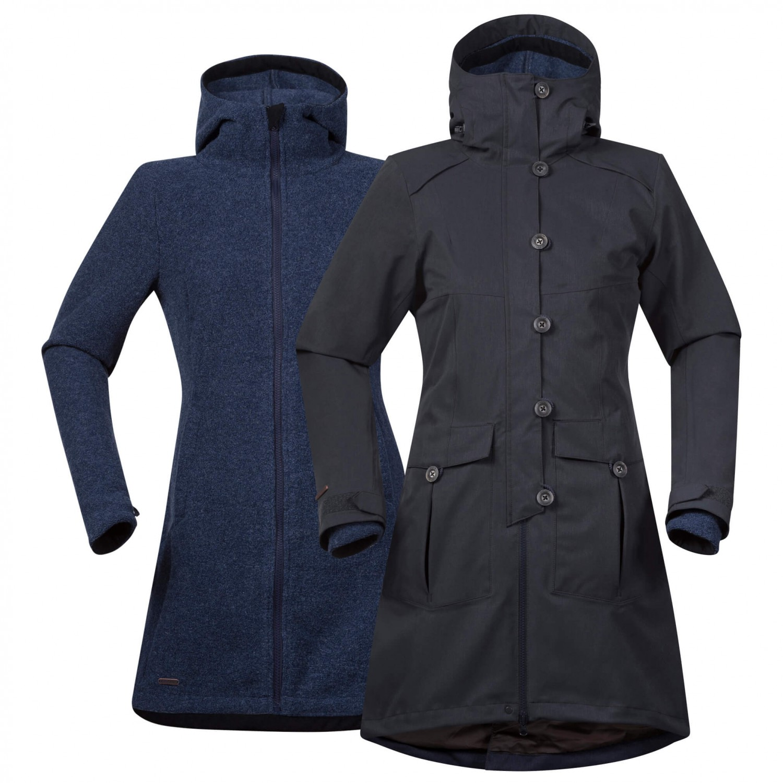 promo code 24432 016bb Bergans - Women's Bjerke 3In1 Coat - Mantel - Zinfandel Red / Solid  Charcoal | XS