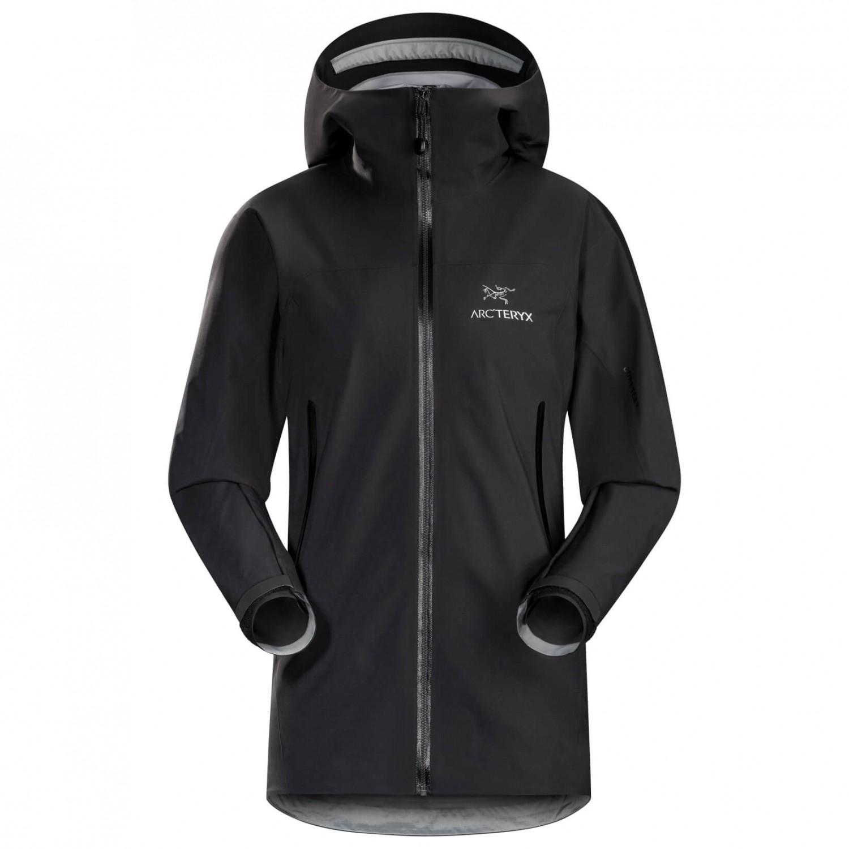 Boutique en ligne 53a1e 40dd2 Arc'teryx - Women's Zeta AR Jacket - Chaqueta impermeable - Black | XS