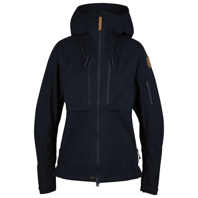 sehr bekannt Schnäppchen für Mode großer Rabatt Fjällräven - Women's Keb Eco-Shell Jacket - Waterproof jacket - Black | XS