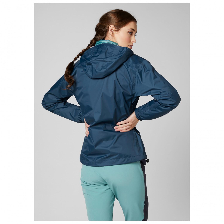 Helly Hansen Women's Loke Jacket Regnjacka Sling Navy Print | XS
