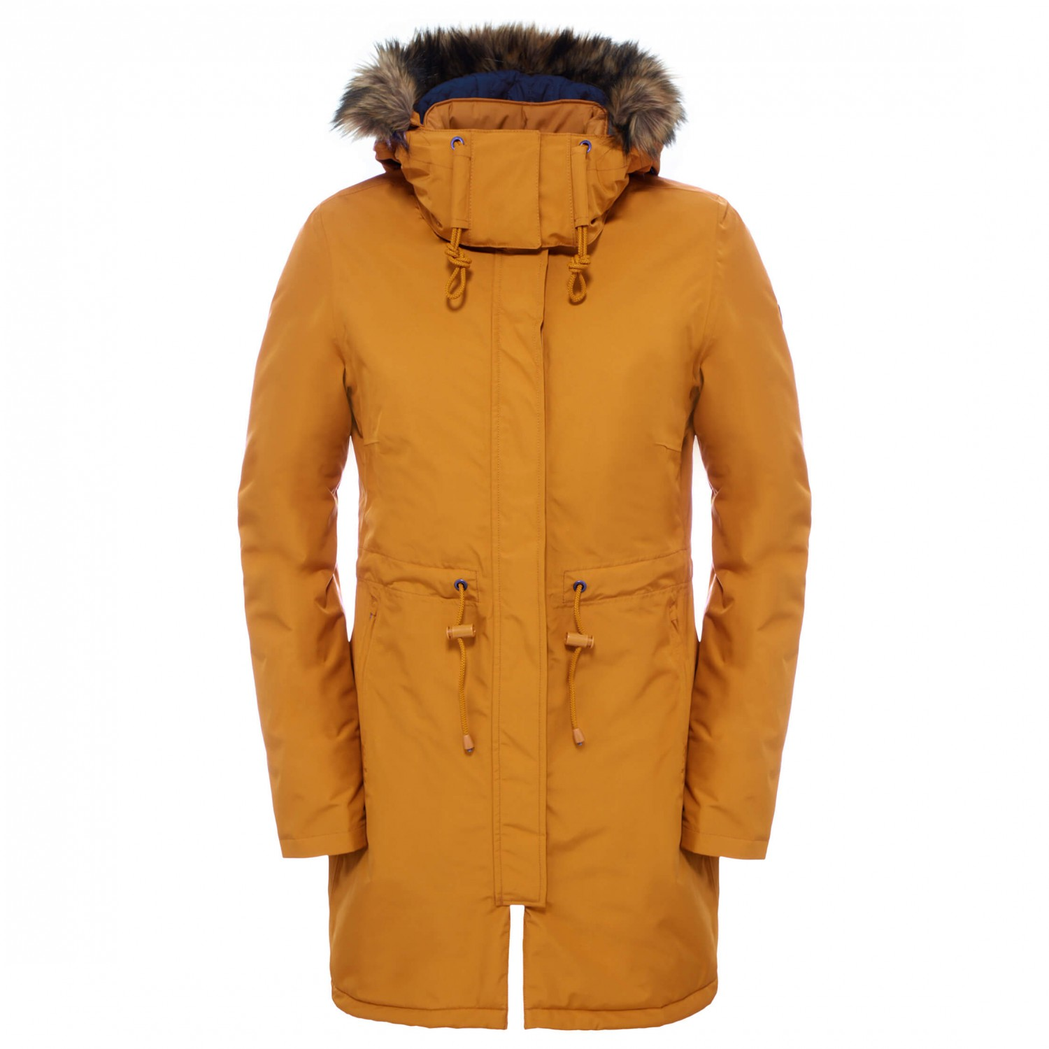 how to clean north face parka