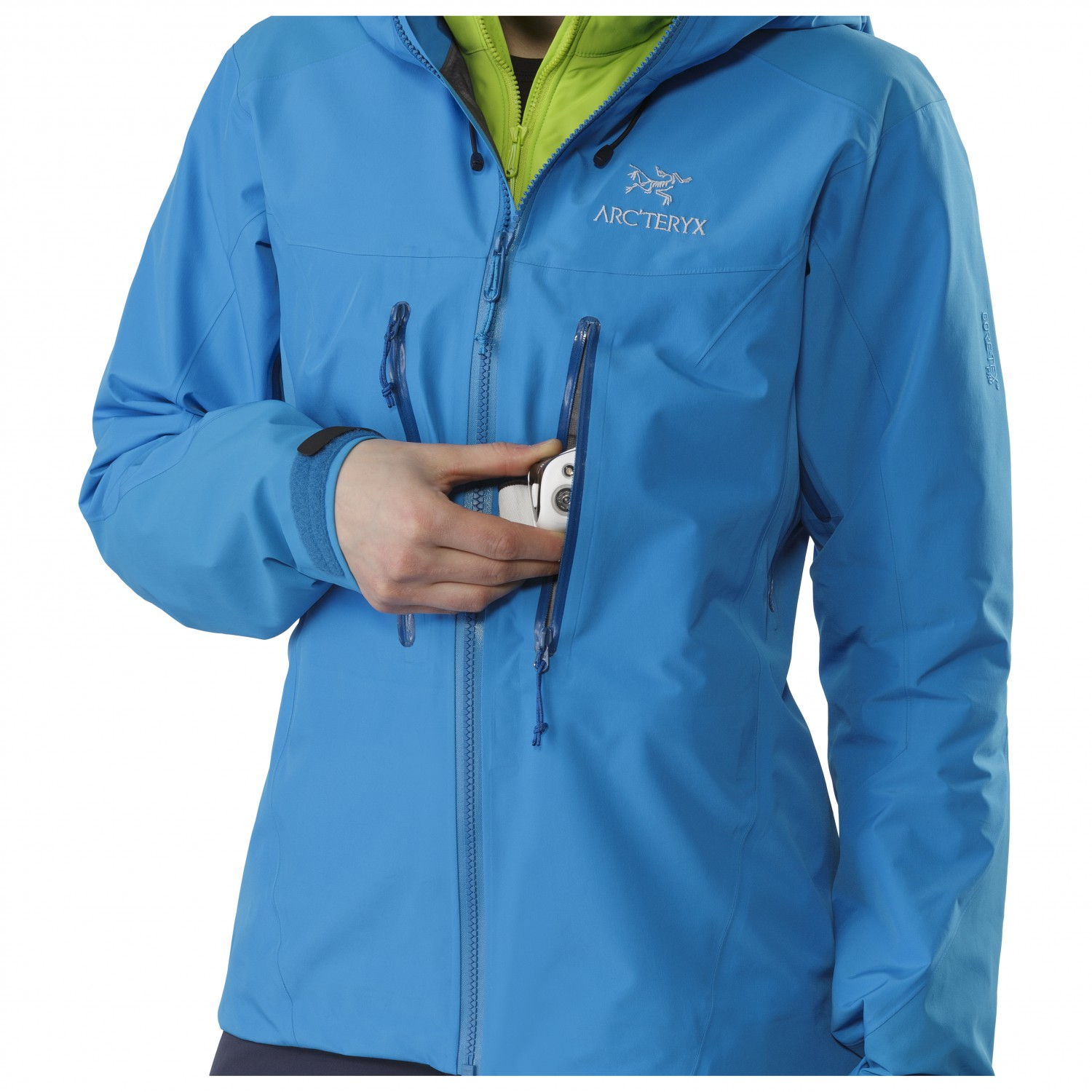 26a4cbaf Arc'teryx Alpha AR Jacket - Waterproof Jacket Women's | Free UK ...