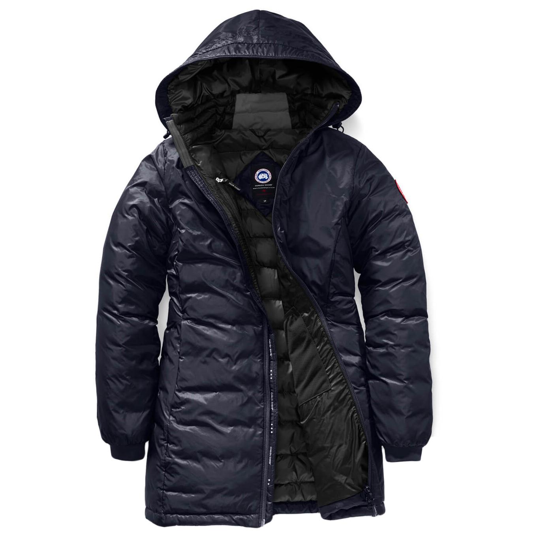 d41567768 Canada Goose - Ladies Camp Hooded Jacket - Down jacket - Black / Black | XS