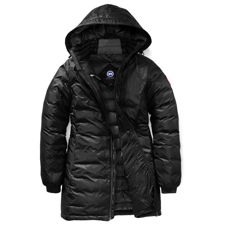 Canada Goose Ladies Camp Hooded Jacket Daunenjacke Black Black | S
