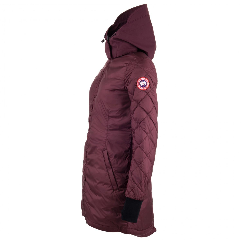Neu Canada Goose Stellarton Mantel Rot Für Damen Online