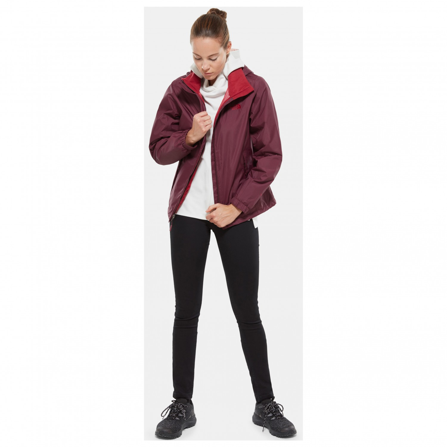 80b788923c ... The North Face - Women's Resolve 2 Jacket - Veste imperméable ...
