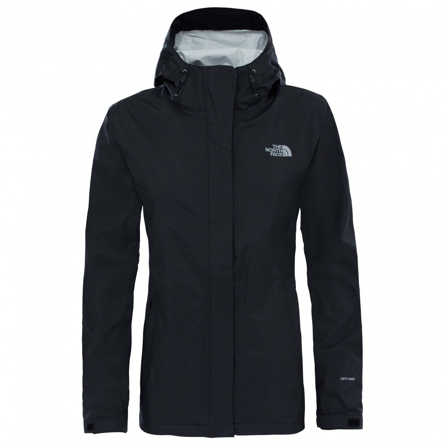 6eb0a880c The North Face - Women's Venture 2 Jacket - Waterproof jacket - TNF Black |  XS