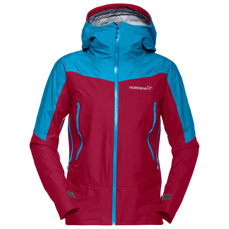 Norrøna Women's Falketind Gore Tex Jacket Waterproof jacket Caviar | XS