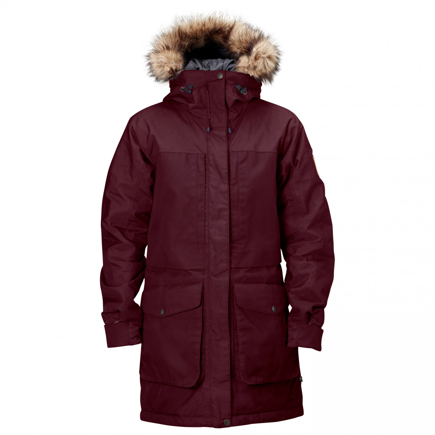 new arrivals 6b0dd 30537 Fjällräven - Women's Barents Parka - Coat - Black | XS