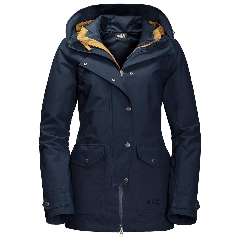 premium selection 6596c 178da Jack Wolfskin Devon Island - Mantel Damen online kaufen ...