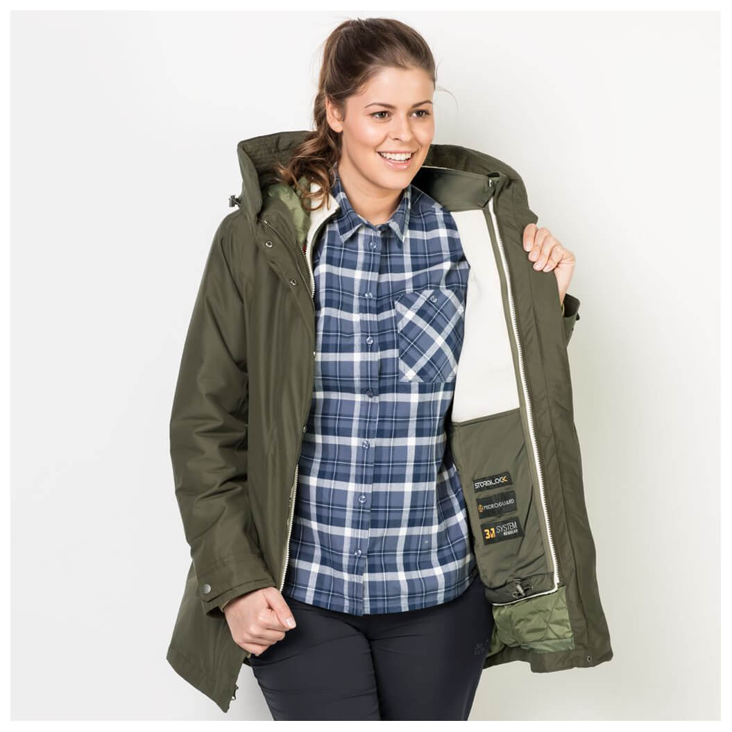 Jack Wolfskin North Bay Dames Parka | Jassen | Mets Outdoor