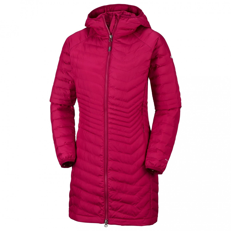 Columbia Women's Powder Lite Mid Jacket Manteau Pomegranate   XS
