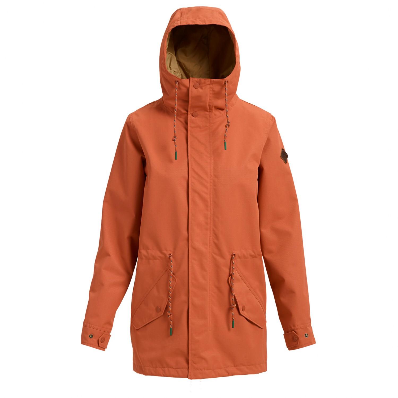 Burton Sadie Jacket - Pitkä takki Naiset  e81bfcc48b