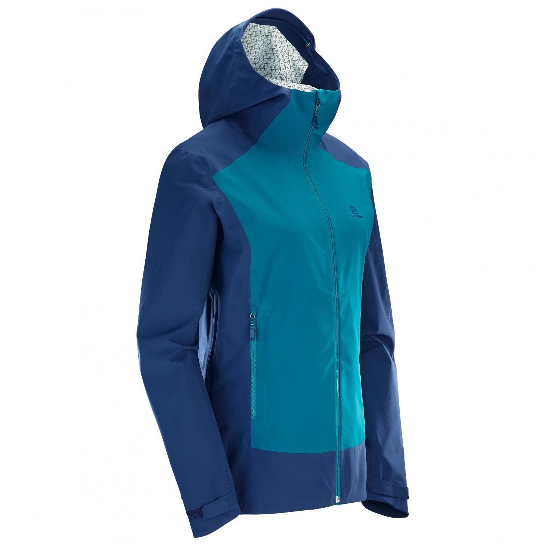Salomon La Cote Stretch 2.5L Jacket Regenjacke Damen
