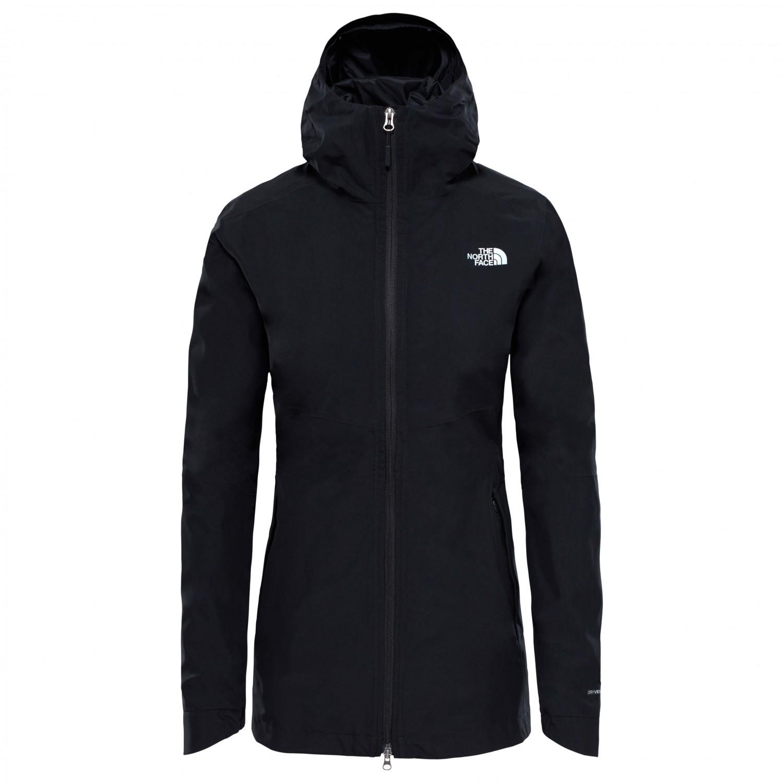 The North Face Women's Hikesteller Parka Shell Jacket Regenjacke Blue Wing Teal | S