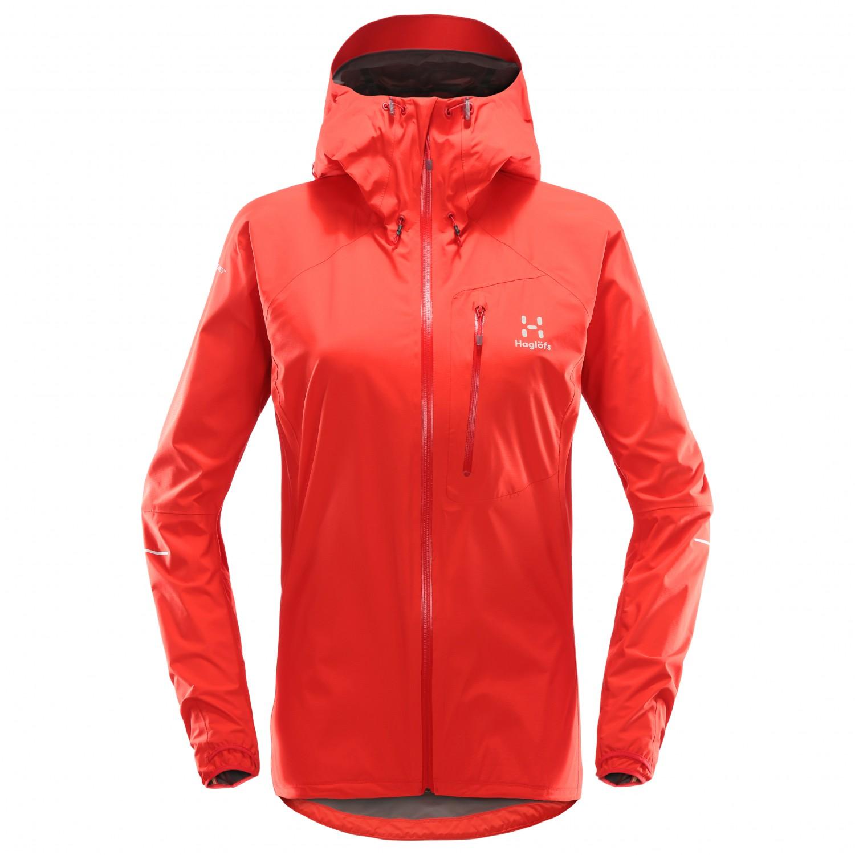 Haglöfs Damen Jacket Versandkostenfrei L m i Hardshelljacke Cw0rC