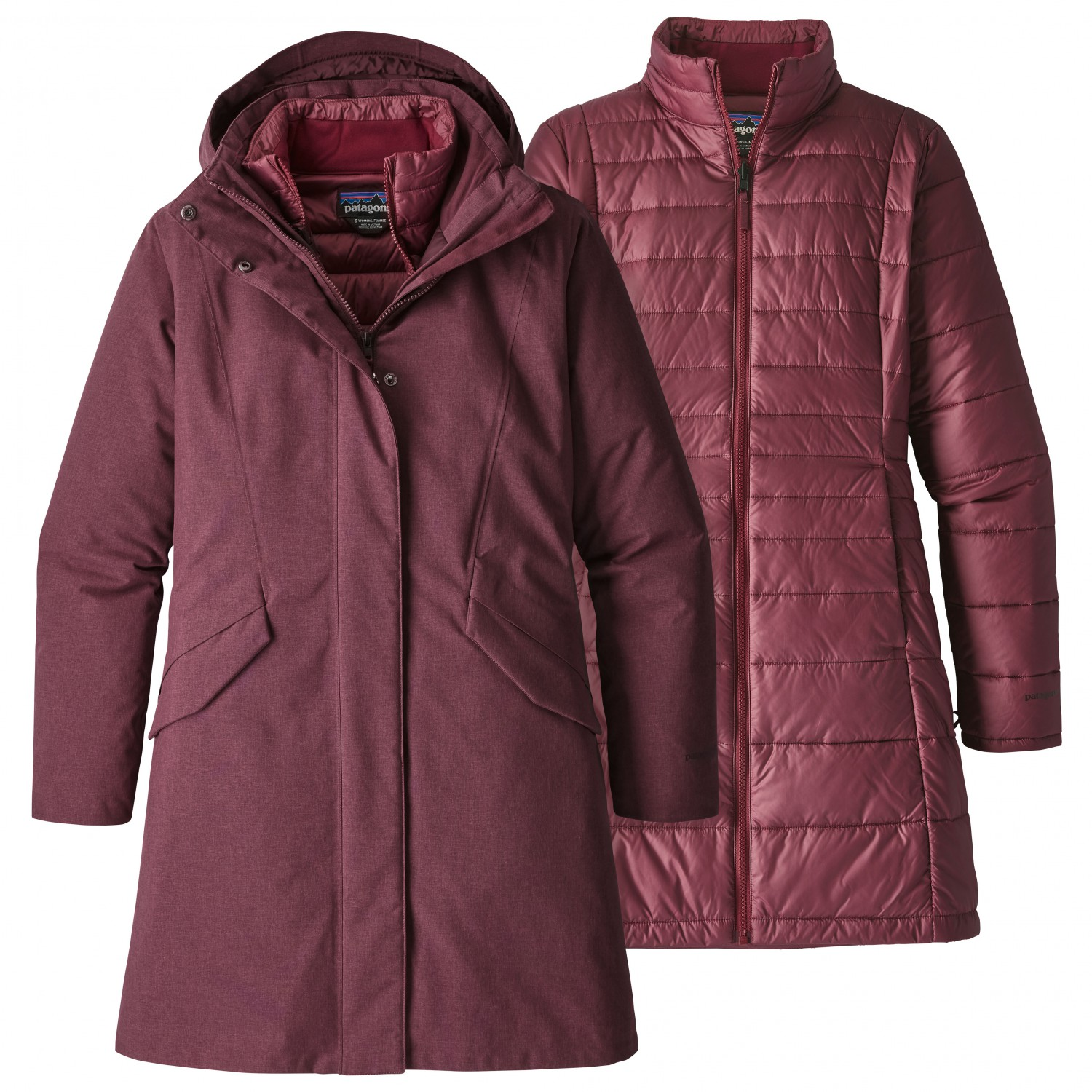 f09fa174aa40d8 Patagonia Vosque 3-In-1 Parka - 3-in-1 jacket Women's | Free EU ...